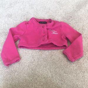 🌿8/$45🌿 Calvin Klein Jeans Pink Shrug 2T